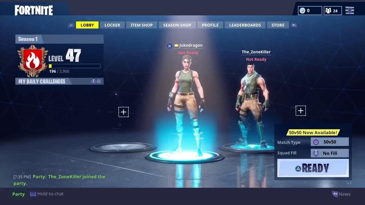 Image result for how to leave party in fortnite reddit