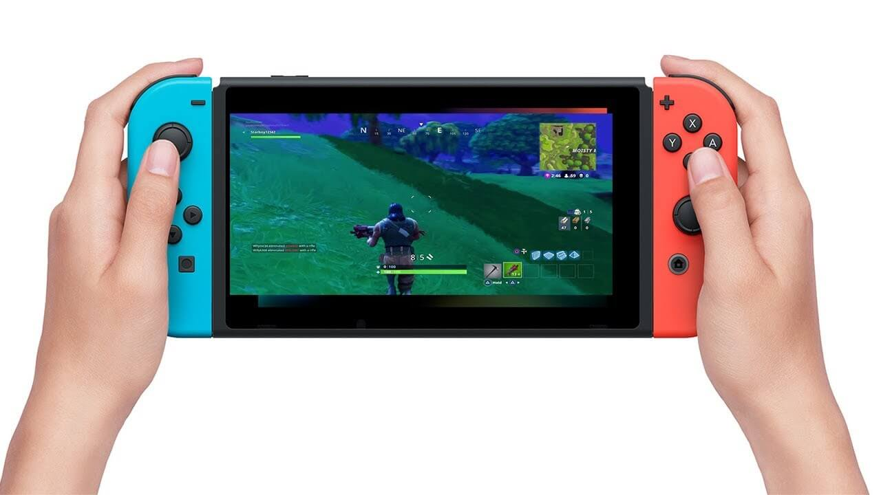 Fortnite On The Nintendo Switch It S Possible Fortnite Insider