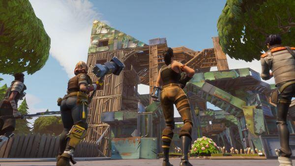 Building in Fortnite Battle Royale