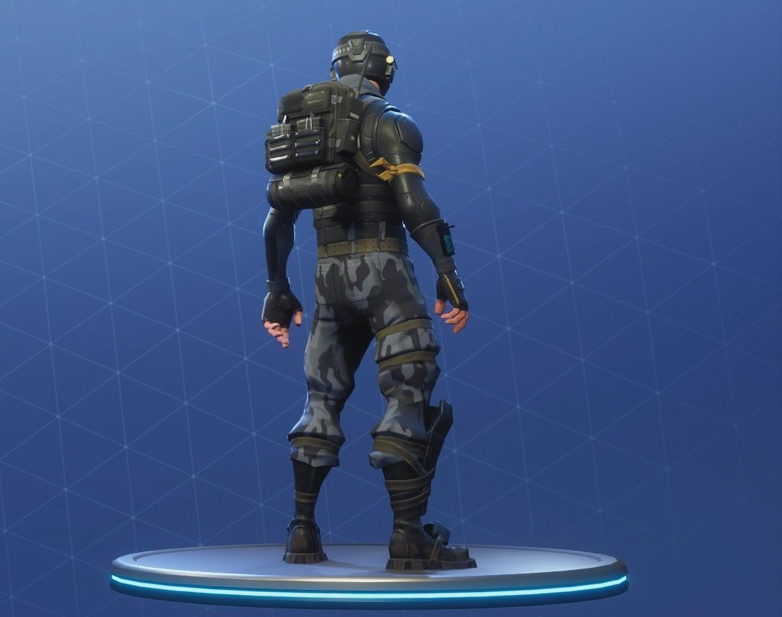 Rogue Agent Outfit Starter Pack Fortnite Battle Royale BackPack