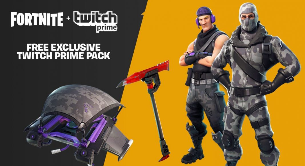 Fortnite Battle Royale Twitch New Pack