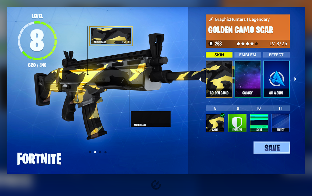 Weapon Customization For Fortnite Battle Royale Fortnite Insider