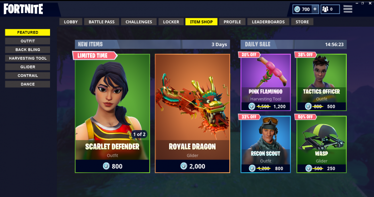 Permanent Shop For Non Seasonal Skins And Daily Sales