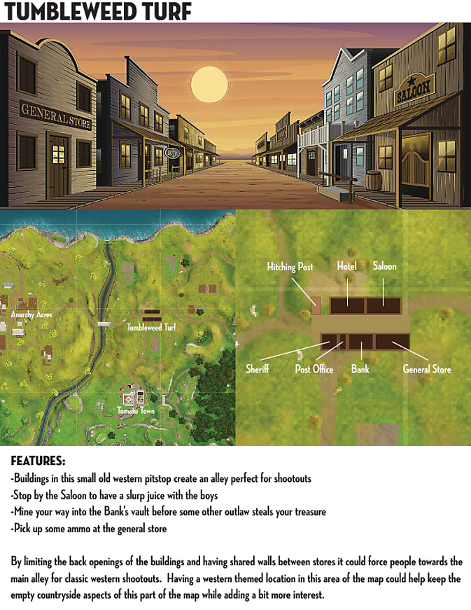 Old West Themed POI Concept   Fortnite Insider