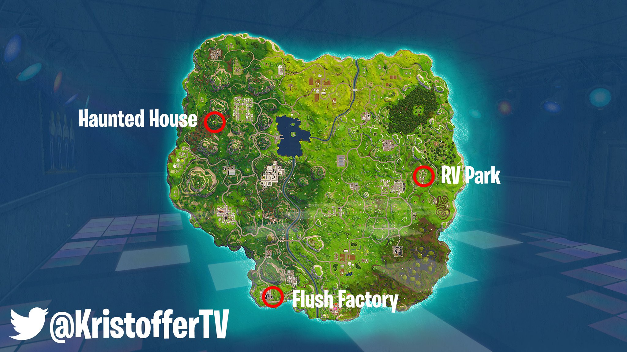 Known Locations For Dance Floors For The Dance On Different Dance