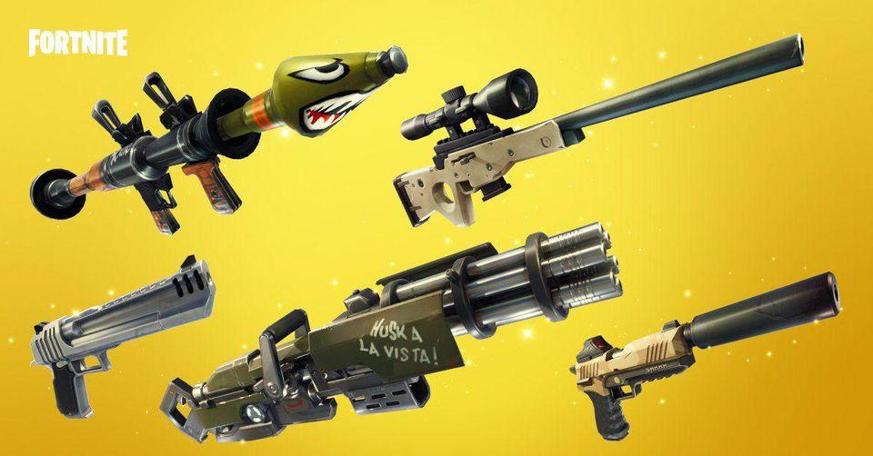 Fortnite Battle Royale Guns
