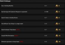 Season 3 Week 8 Leaked Challenges for Fortnite Battle Royale