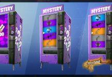 Fortnite Battle Royale Mystery Item from Vending Machine