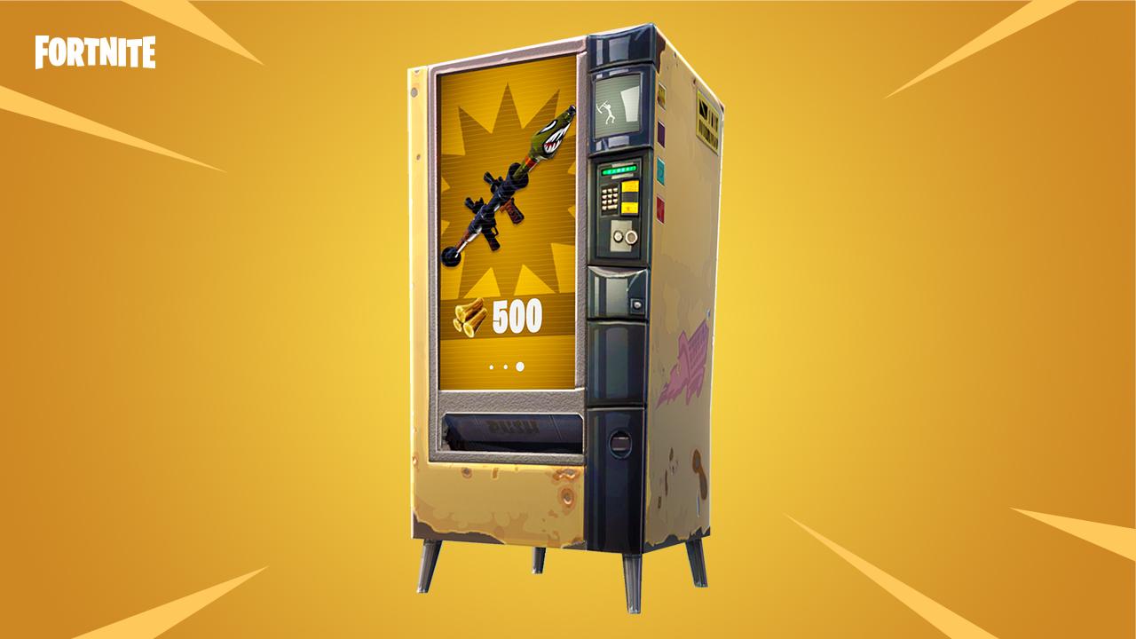 Vending machine fortnite batlle royale