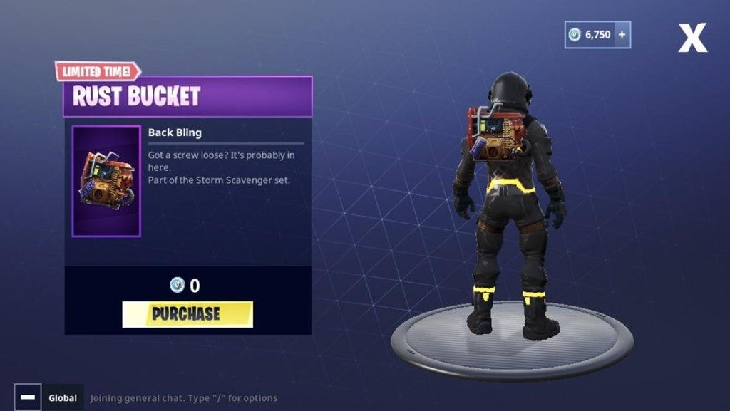 The Free Quot Rust Bucket Quot Back Bling Is Now Available