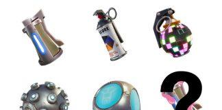 Fortnite Battle Royale Sticky Grenade Leak