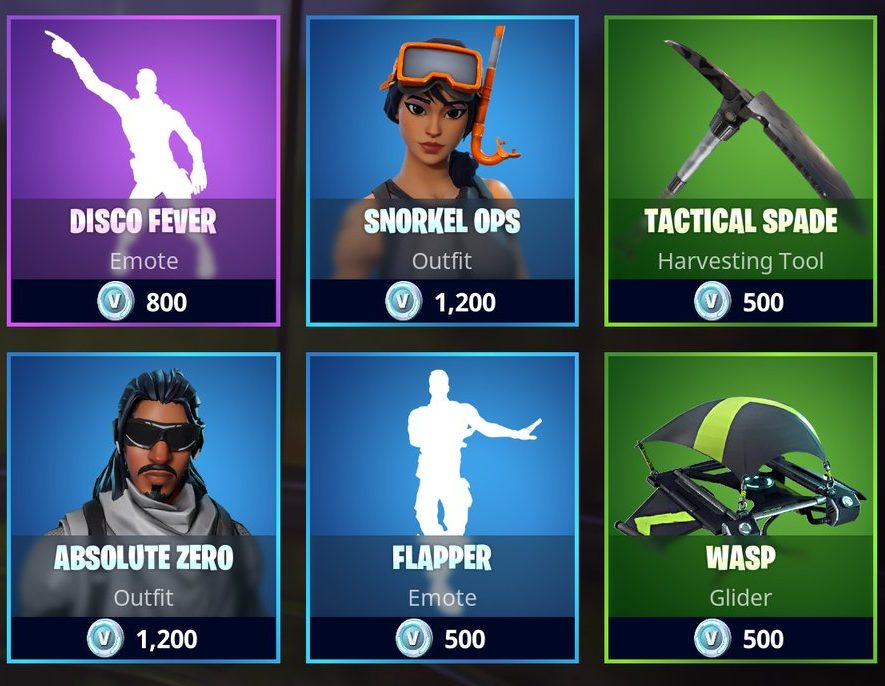 Fortnite Item Shop - Fortnite Daily Items May 13th ...