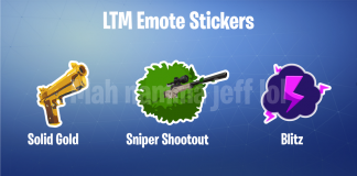 Limited Time Mode Stickers for Fortnite Battle Royale