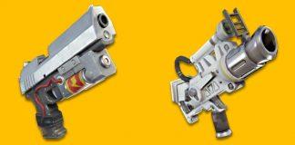 New Fortnite Battle Royale Guns