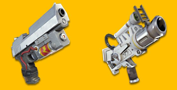Double Pistols Space Pistol Possibly Coming To Fortnite Battle