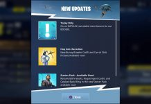 Fortnite Battle Royale April Fool's