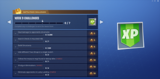 Fortnite Challenges Season 3 Week 9