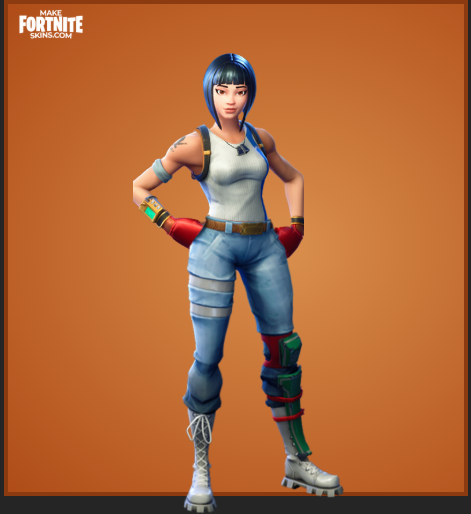 Custom Fortnite Skin