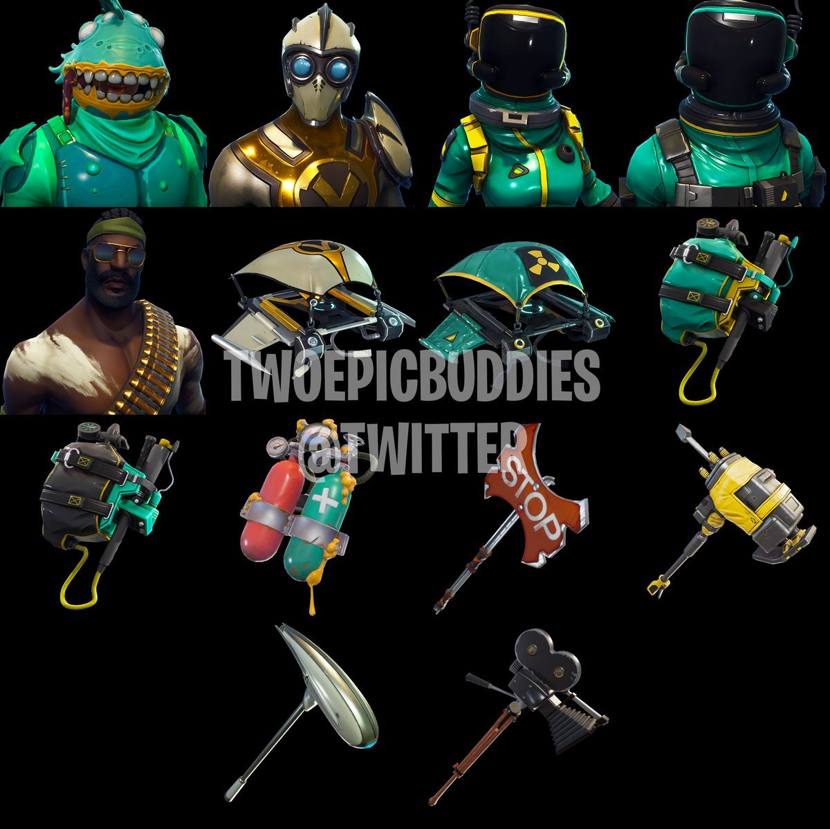 More Fortnite Battle Royale Skins Leaked Fortnite Insider