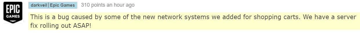 Epic Employee Response to Bugs