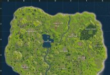 Fortnite Map Season 1 Version one original map