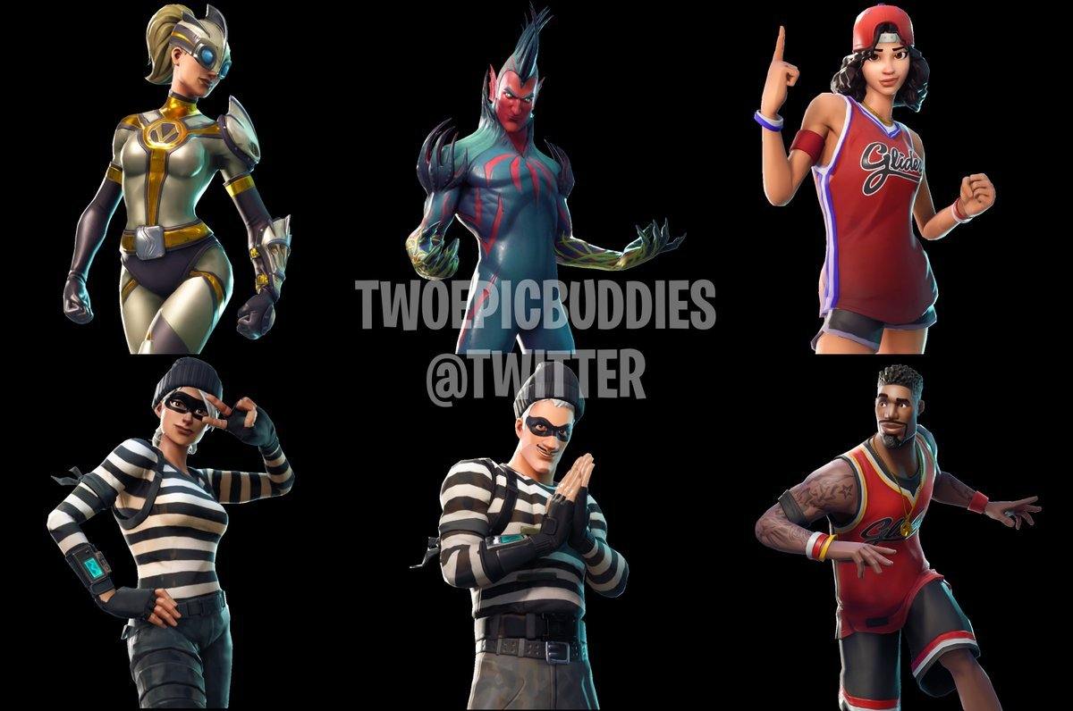 Datamining Reveals New Leaked Skins And Cosmetics Coming To Fortnite