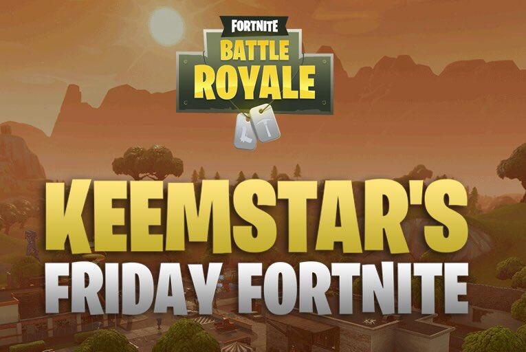 Friday Fortnite Tournament