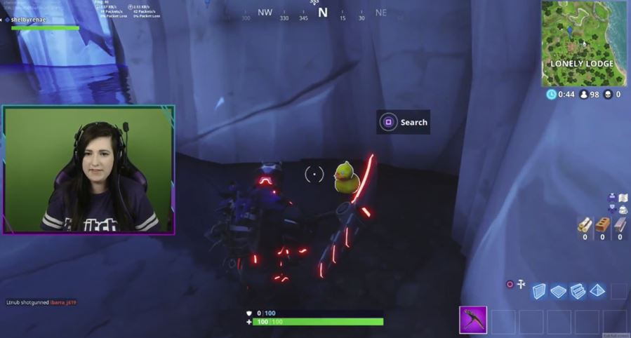 Lonely Lodge Duck Location