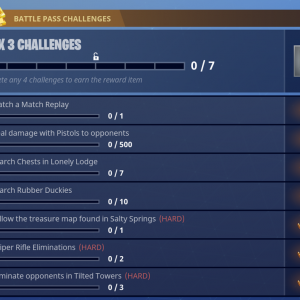 Season 4 Week 3 Challenges Fortnite Battle Royale ...