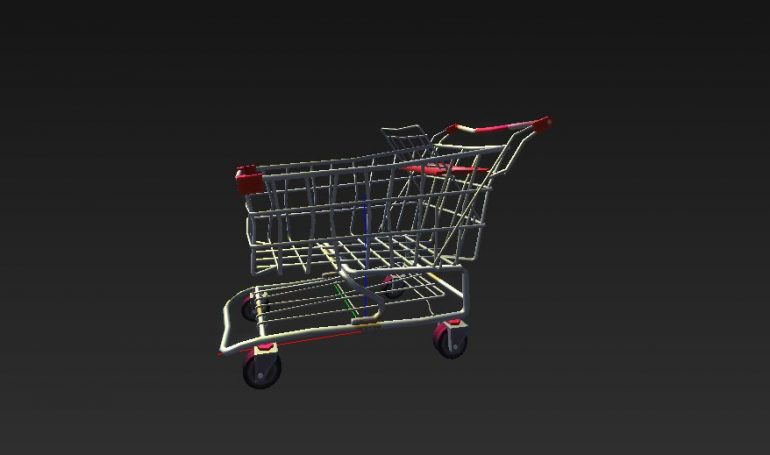 Fortnite Battle Royale Shopping Cart
