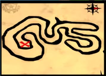 How To Solve The Follow The Treasure Map Found In Salty Springs