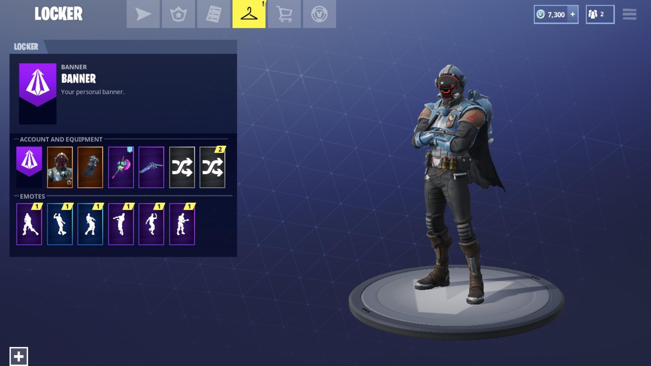 Blockbuster Skin - The Visitor