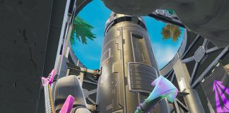 Fortnite Rocket in Enemy Lair