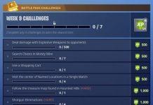 Fortnite Season 4 Week 9 Challenges
