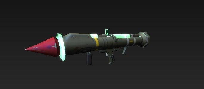 guided missile model - fortnite remote rocket