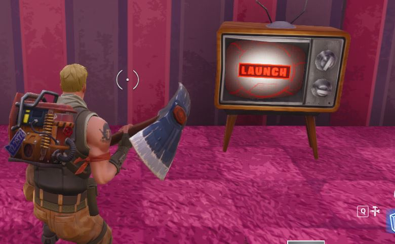 Fortnite Launch Showing on TV's