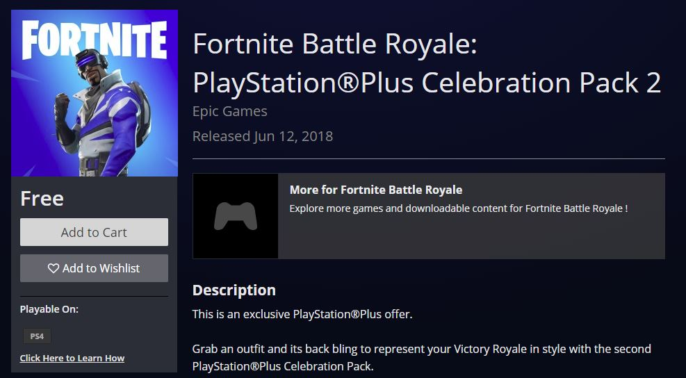 playstation exclusive skin is now available - all free ps4 fortnite skins