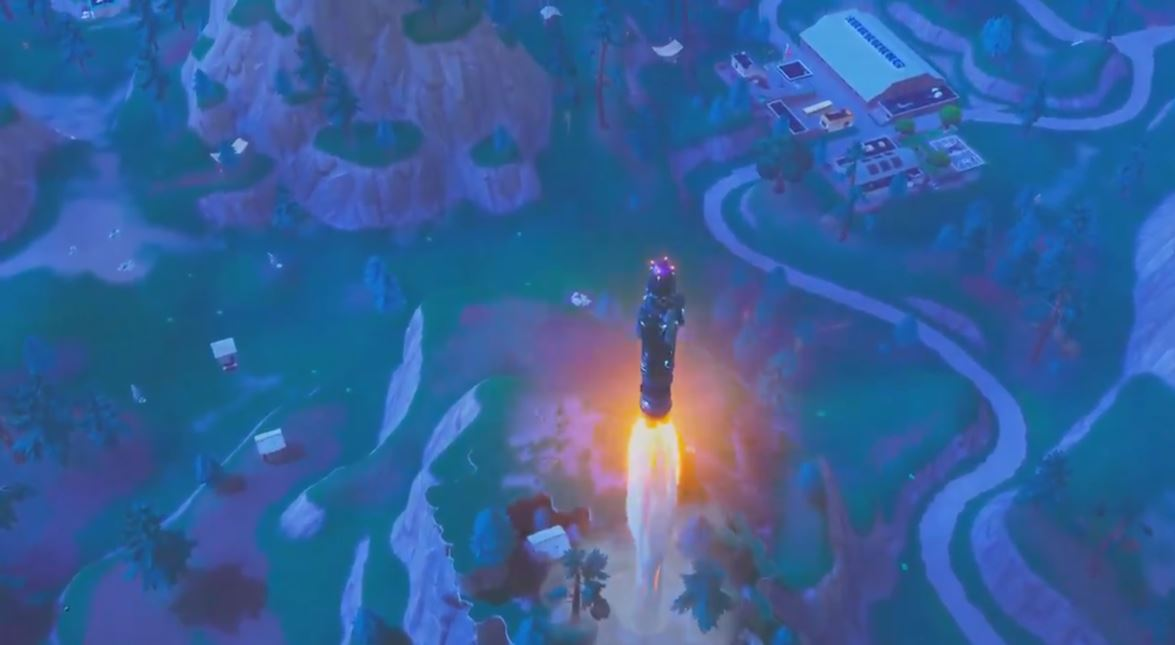 Voice From The Rocket After Launch Fortnite Insider