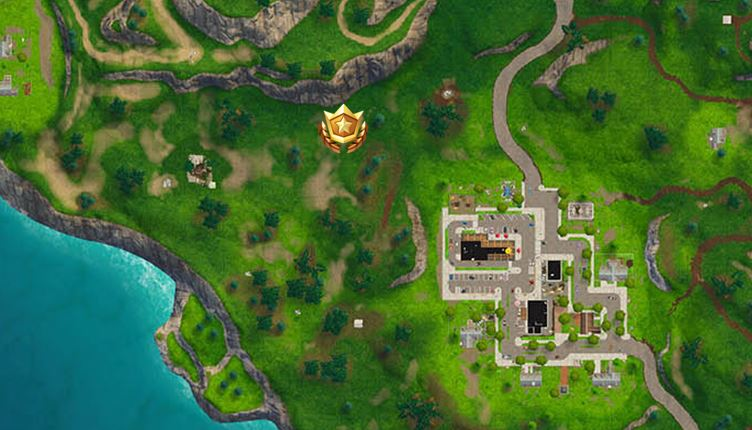 Search between a Playground, Campsite and a Footprint Battle Star Exact Location