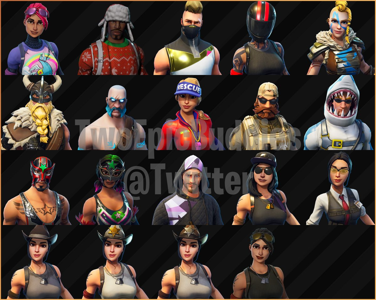 All The Fortnite Season 5 Skins Cosmetics Emotes That Have Been