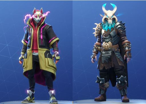 Drift and Ragnarok Max Styles in Fortnite Season 5