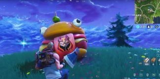 Durrr Burger Found in Fortnite