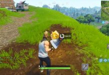 Follow Treasure map found in flush factory challenge location