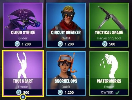 Fortnite Item Shop - Daily Items (July 20th - July 21st)