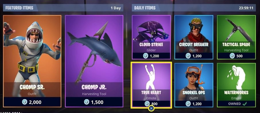 Fortnite Item Shop - Featured & Daily Items (July 20th - July 21st)