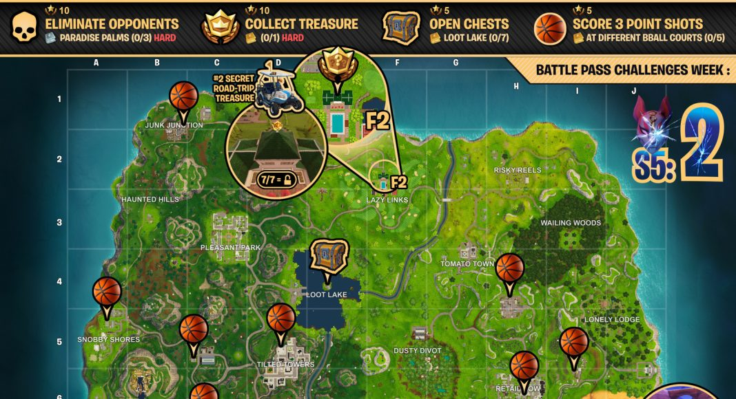 Cheat Sheet Map For Fortnite Battle Royale Season 5 Week 2 Challenges Fortnite Insider A viking ship, desert outpost, and ancient statues have appeared on the island, changing the. cheat sheet map for fortnite battle