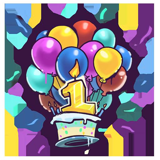 Fortnite Happy Birthday Spray