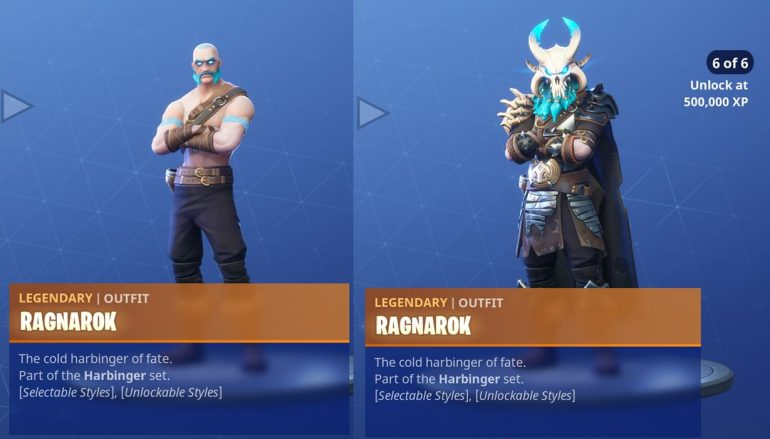 Fortnite Season 5 Battle Pass Skins Pickaxes Backlings