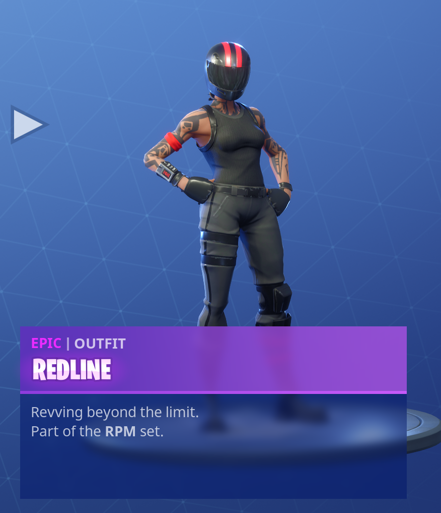 Fortnite Season 5 Battle Pass Tier 23 Redline Skin/Outfit
