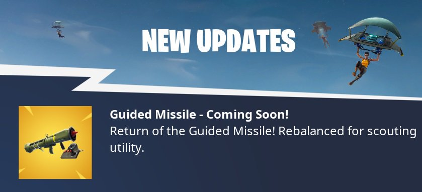 Guided Missile Returns